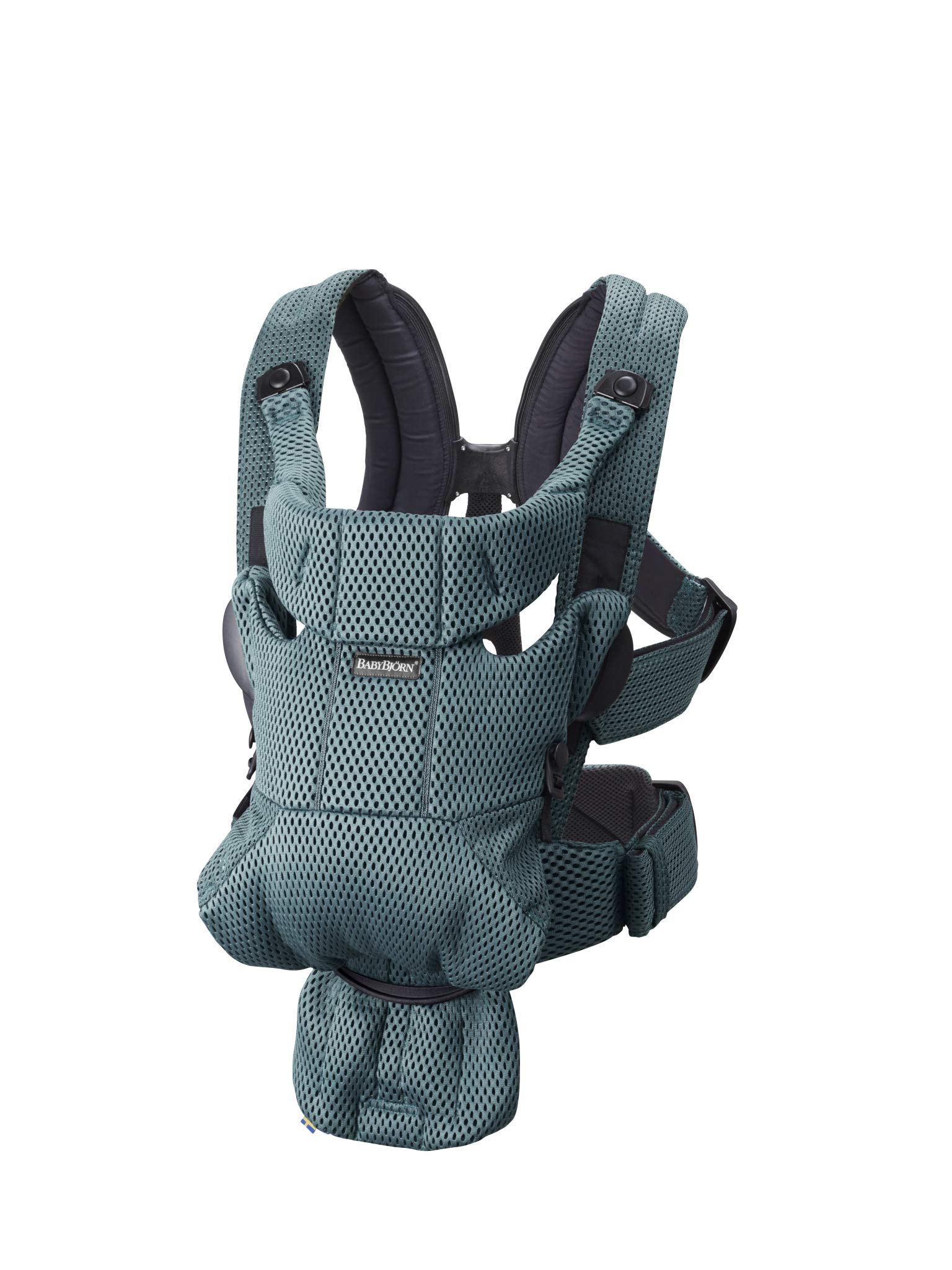 BABYBJÖRN Baby Carrier Move, 3D Mesh, Sage Green Baby Bjorn Excellent comfort with built-in back support and waist belt Easy to put on and take off Soft and airy design in cool 3D mesh 1