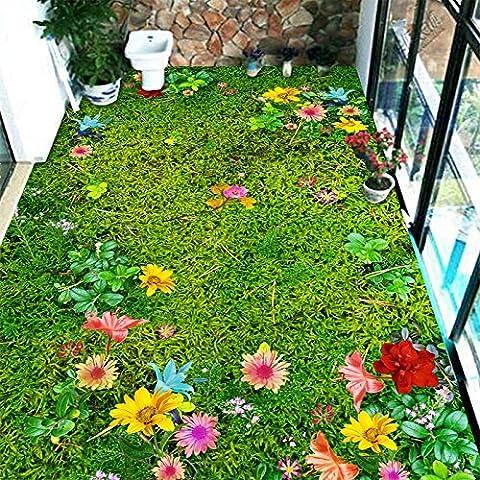 3D-Land Stil balkon Teppich sofa Tischsets Schlafzimmer Bett und Bad Rutschfeste Fußmatte custom 400 ×.? (Teppich Für Balkon)