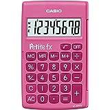 Casio Petite FX Calculatrice Scolaire 8 chiffres Rose LC-401LV-PK