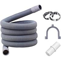 Tuyau de vidange pour machine à laver,2M Flexible d'évacuation universel,rallonge de tuyau pour lave-vaisselle,Rallonge…