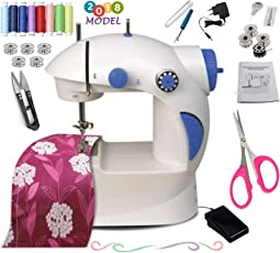 Vivir Ming Hu Multi Funtional Mini Sewing Machine for Home with Accessories (2018 Model)