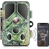 كاميرا Campark واي فاي بلوتوث 20 ميجابكسل 1296 بكسل لعبة الصيد مع إضاءة LED 940 نانومتر للرؤية الليلية بحركة IP66 مضادة للماء