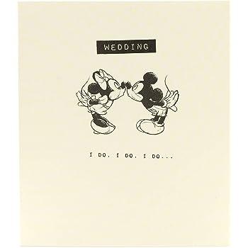 987294d7625 Wedding Card - Congratulations Wedding Card - Mickey and Minnie Mouse Card  for Wedding