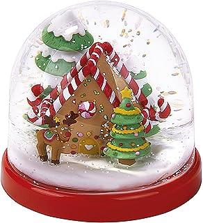 moses Spieldosen Schneekugel Reh Schüttelkugel mit Schneeflocken und Glitzer 37903