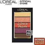 L'Oreal Paris La Petite Eyeshadow Palette, Maximalist, 5 g