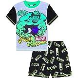 The Incredible Hulk Crash Krunch Pijama corto para niños