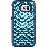 OtterBox My Symmetry Schutzhülle inkl. austauschbarem Inlay für Samsung Galaxy S6 blau