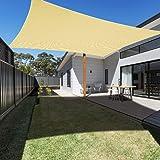 Anthracite SUNNY GUARD Voile dombrage Rectangulaire 2x2m Imperm/éable Anti UV pour Jardin Terrasse Balcon
