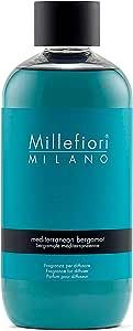 Millefiori Milano Refill Diffusore Bastoncini Mediterranean Bergamot