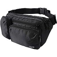 Amazon Brand - Eono Wasserabweisend Gürteltasche mit Mehreren Taschen, Bauchtasche mit Großem Fassungsvermögen für…