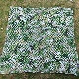 DYFYMXSonnenschirm Sonnenschutznetz, Sonnenschutz atmungsaktiv dekorative Marine Camouflage Tarnnetz Outdoor-Isolierung net (Farbe : Green, größe : 4 x 6m)