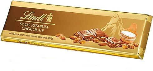Lindt Gold Tab Chocolate, Almond Milk, 300g