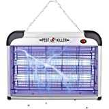 Electric Zapper/Pest Repeller Control-Strongest Indoor UV Lamp Flying Fly Insect Killer Mosquitoes Flies Killer Repellent Tra