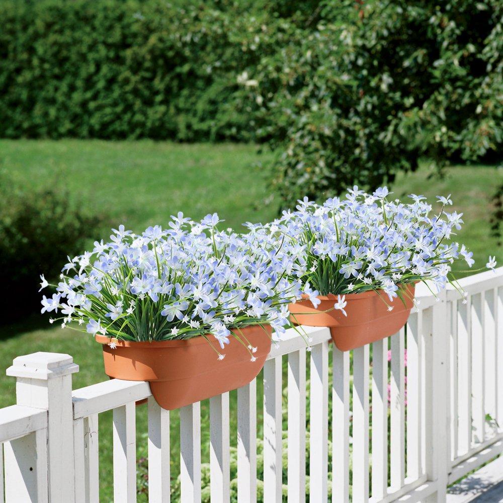 Mihounion bouquet fiori finti piante finte verdi fiori for Fiori verdi