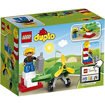 Lego 10871 Duplo My Town Airport Building Set With Airplane Toy