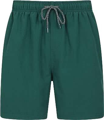 Mountain Warehouse Aruba Mens Swim Shorts - Fast Dry Swimming Trunks, Lightweight Board Shorts, Adjustable Draw Cord Beach Short Pants, Mesh Shorts -for Holidays & Pools