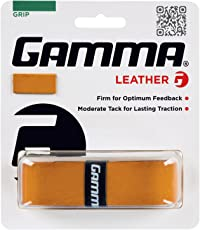 Gamma Sports Tennis Racquet Leather Grip