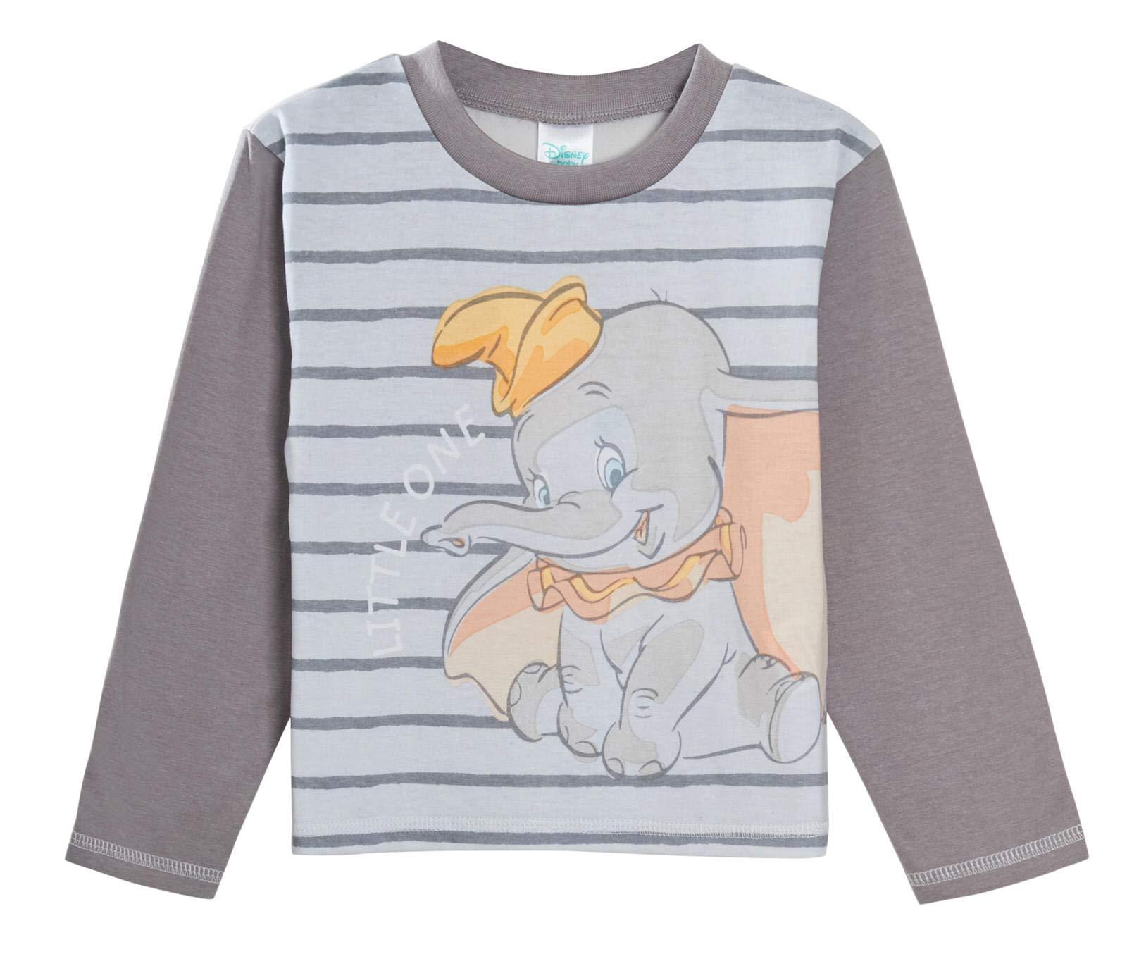 Pijama de Dumbo para bebé, niños y niñas, unisex, juego de pijamas de 2 piezas, de Disney 2