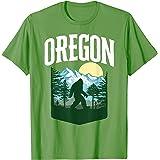 Oregon Bigfoot Outdoors Graphic - Mountains, Trees & Nature Camiseta