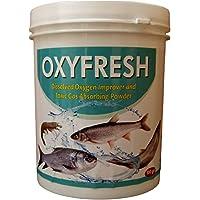 OXYFRESH - DO Improver | Oxygen Powder | Toxic Gas Remover | Alkalinity Stabilizer | Aqua Feed Supplement | Aqua…