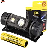 Nitecore HC65 Head Torch - USB Rechargeable 1000 Lumens - Triple Output/w Red Light