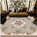 Tapis Vintage Grand Tapis Classique Oriental Tapis Maison Motif Floral Tapis De Salon Divers Styles,Coloré23,200x300cm
