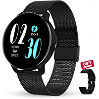 GOKOO Smartwatch 1.3 Zoll HD Voller-Touch Screen Damen Herren Intelligent Uhr IP67 Wasserdicht Fitness Tracker…
