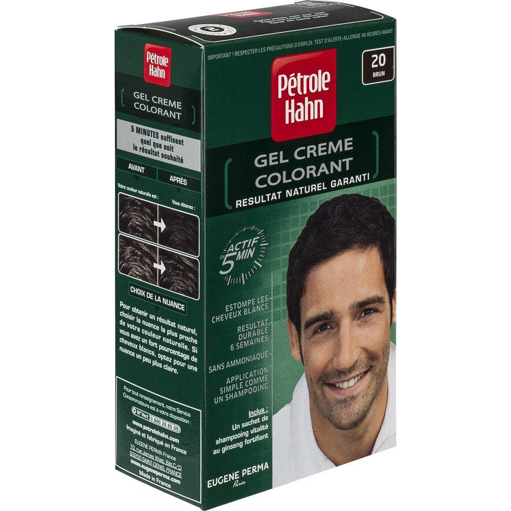ptrole hahn coloration brun n20 ton sur ton sans ammoniaque amazonfr hygine et soins du corps - Shampoing Colorant Homme