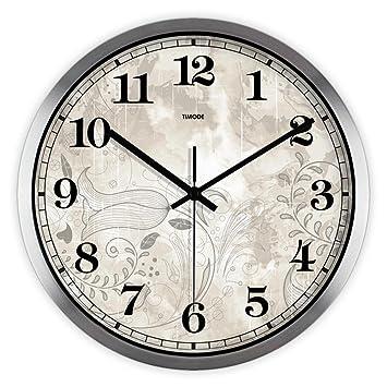 Timeback 12 pollici silenzioso orologio da parete dell\'annata per la ...