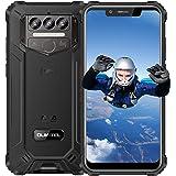 OUKITEL WP9 Teléfono Móvil Resistente Agua y Golpes, 6GB RAM+128GB ROM Batería 8000 mAh, 5.86''HD Android 10 Dual SIM Imperme