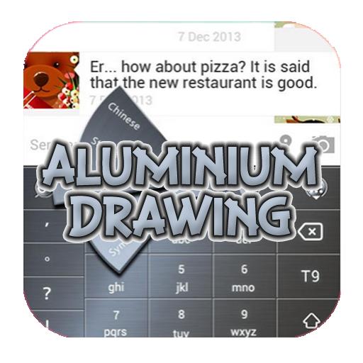 aluminum-drawing-keyboard-theme