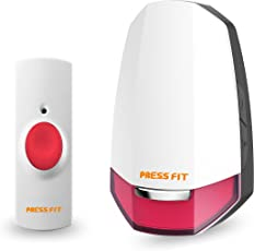 Press Fit Echo-V Auto-Learning Wireless Bell (Plug-in) (Red)