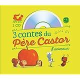 3 contes du Père Castor d'animaux : Le petit hérisson partageur ; Dans le ventre du moustique ; Un travail de fourmis (1CD audio)