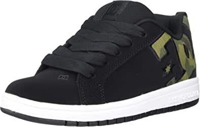 DC Shoes Court Graffik SE Youth Shoe, Scarpe da Skateboard Bambino