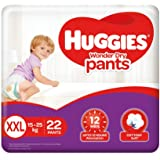 Huggies Wonder Dry Pants, Double Extra Large (XXL) Size Diapers, 22 Count