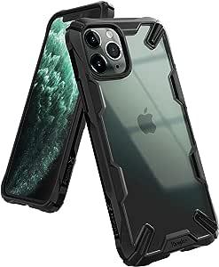 Ringke Fusion X Kompatibel Mit Iphone 11 Pro Hülle Dünn Hart Transparent Rückseite Mit Weiche Black
