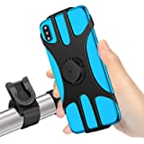 MOSUO Porta Cellulare Bici, Supporto Smartphone per Bici Manubrio MTB Universale 360° Rotabile Telefono Portacellulare…