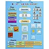 CHUCKLE Mi Primer Calendario, Magnético 42x35cm - Actividad Aprendizaje Niños