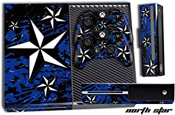 24*7 Skins Xbox One Console + Controller Skin (Northstar Blue)