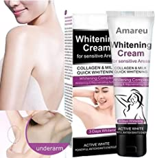 GARYOB Natural Whitening Cream Get Rid of Dark Armpit/Inner thigh/Elbow/Knee/Private Part Nipple Whitening Pinkish Bleaching Cream