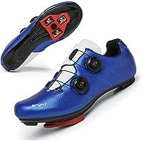 TFNYCT Chaussures de Cyclisme sur Route pour Hommes avec Crampons antidérapants pour Le Cyclismer, Respirantes et…