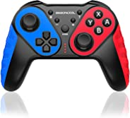 BEBONCOOL Controller für Nintendo Switch, Wireless Switch Pro Controller 6 Achsen Gyro-Chip mit Dual Motors Vibration Turbo F