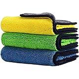 Car Drying Towel,ShowTop Free Microfiber Cleaning Cloth,Premium Professional Soft Microfiber Towel,Super Absorbent Detailing