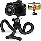 Adofys Flexible Gorillapod Tripod with 360° Rotating Ball Head Tripod for All DSLR Cameras(Max Load 1.5 kgs) & Mobile Phones