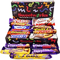 Ultimate Chocolate Gift Box – Packed with 16 Adult & Kids Favourites Chocolate Bars - Perfect Chocolate Hamper, Birthday…