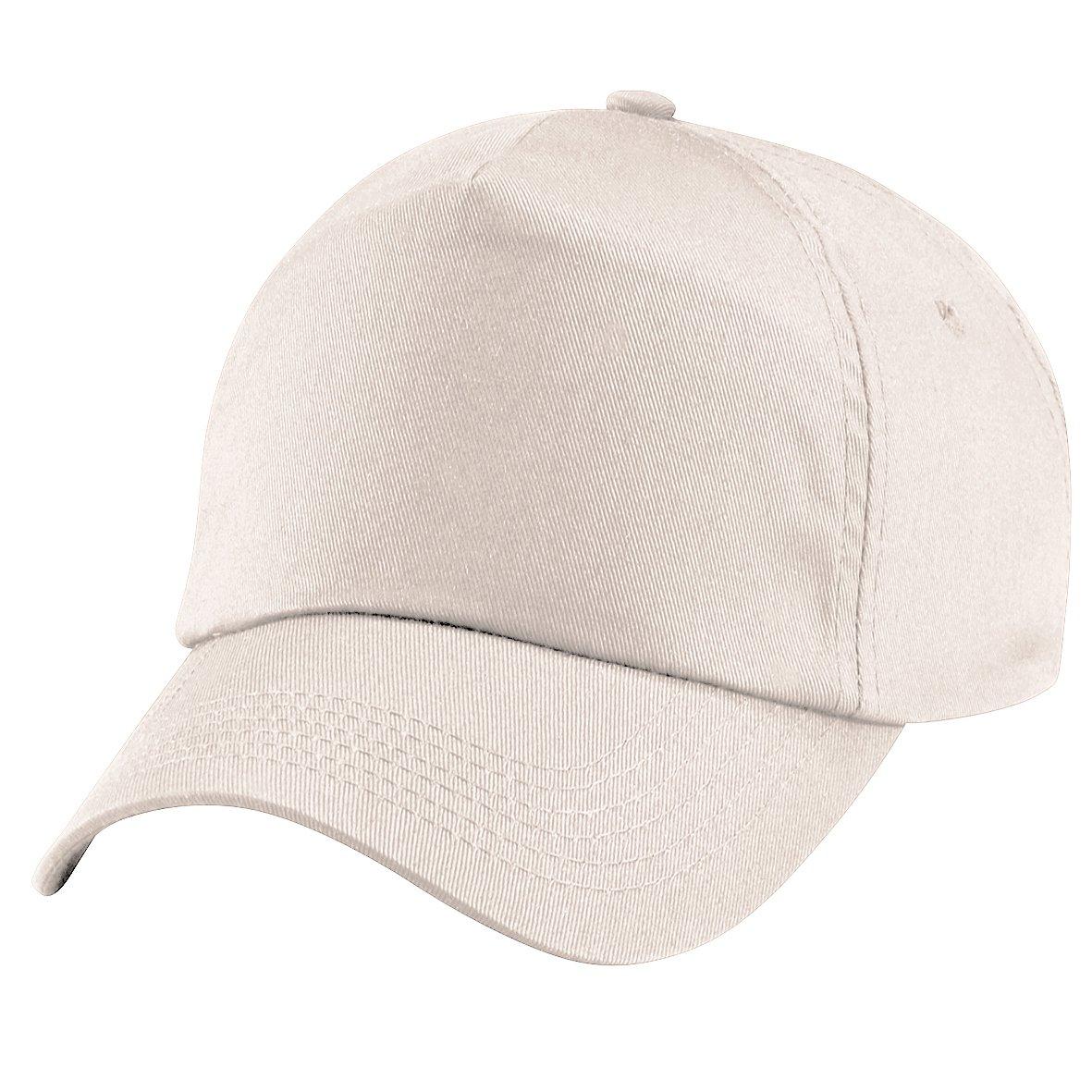Beechfield - Cappellino Tinta Unita 100% Cotone - Bambino (Taglia unica) (Sabbia)
