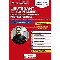 Concours Lieutenant et Capitaine de sapeurs-pompiers professionnels - Catégories A et B - Tout-en-un - Nouveaux concours…