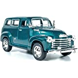 Jack Royal 1/36 Scale Chevrolet Suburban 1950 Metal Diecast Car (Color May Vary as per The Stock) 13 * 5 * 5 cm