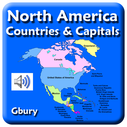 North America Countries and Capital Cities: Amazon.de: Apps ...