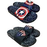 Pampy Angel Combo Pack of 2 Slipper/Slides/Flip Flops for Men